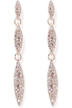Forever New Ina Pave Triple Drop Earrings