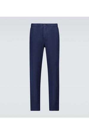 Orlebar Brown Ackens linen and cotton-blend pants