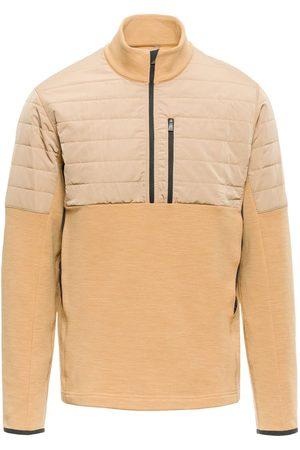 Aztech Men Sweatshirts - Smuggler shell-panelled fleece pullover