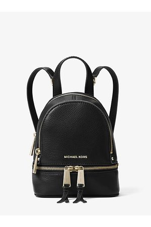 Michael Kors Women Backpacks - MK Rhea Mini Leather Backpack - - Michael Kors