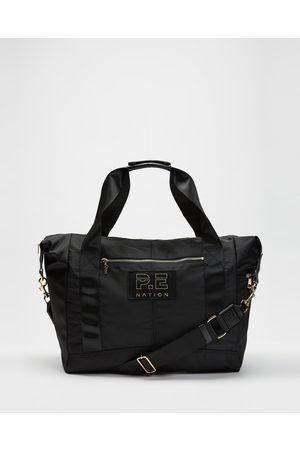 P.E Nation Women Travel Bags - Set Shop Gym Bag - Duffle Bags Set Shop Gym Bag