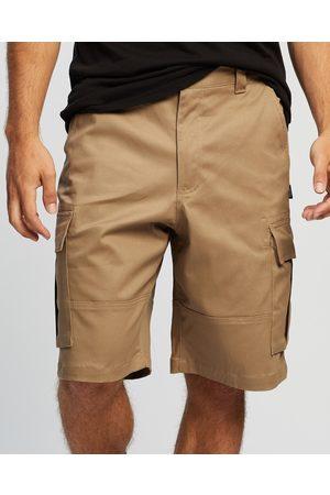 """UNIT Broadcast Cargo 22"""" Shorts - Shorts (Khaki) Broadcast Cargo 22"""" Shorts"""