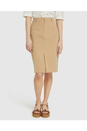 Oxford Deana Cotton Pencil Skirt - Pencil skirts Deana Cotton Pencil Skirt