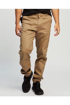 Unit Rockbottom Cuffed Pants - Pants (Khaki) Rockbottom Cuffed Pants