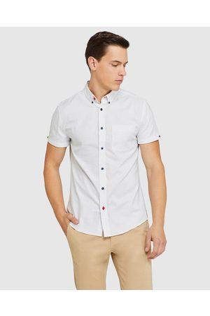 Oxford Tottenham Weave S s Shirt - Casual shirts Tottenham Weave S-s Shirt