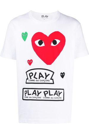 Comme des Garçons Multi logo T-shirt