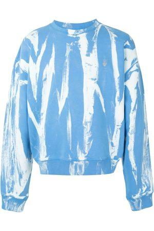 OFF-WHITE Men Sweatshirts - Reflective Arrows tie-dye sweatshirt