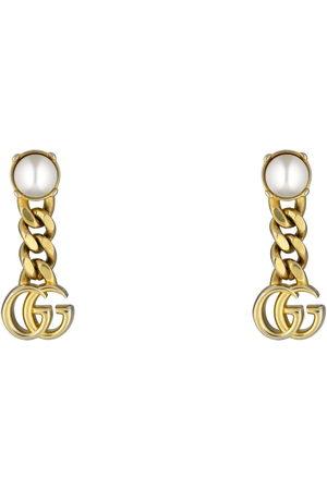 Gucci Earrings - Pearl Double G earrings