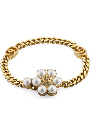 Gucci Bracelets - Pearl Double G bracelet