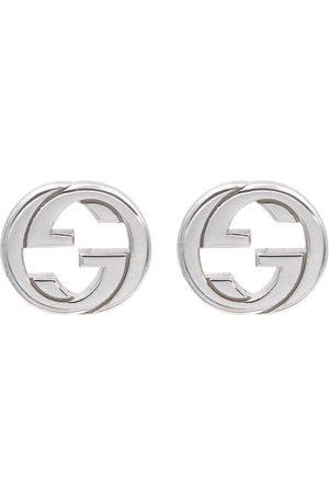 Gucci Interlocking G sterling earrings
