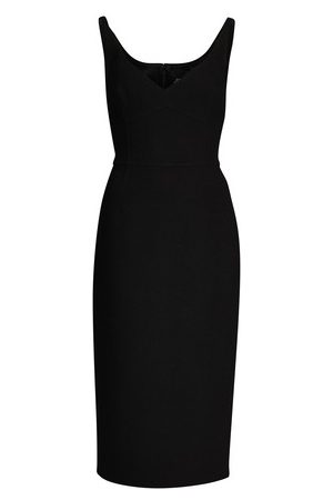 Marc Jacobs Double Face Fitted Slip Dress