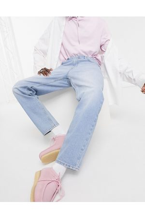 ASOS Classic rigid jeans in vintage light wash blue