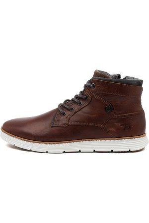 WILD RHINO Men Casual Shoes - Napier Wr Rust Sneakers Mens Shoes Casual Casual Sneakers