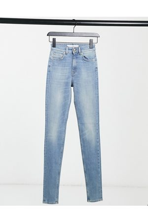 Won Hundred Marilyn high-waisted skinny jeans in light wash-Blue