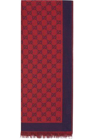 Gucci GG jacquard cotton scarf