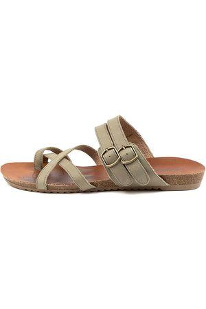 Colorado Denim Women Flat Shoes - Adadirondack Cf Khaki Sandals Womens Shoes Sandals Flat Sandals