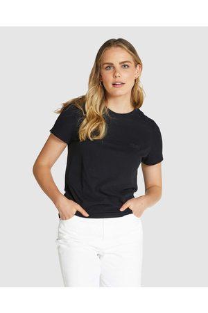 Superdry Women Tops - Orange Label Elite Crew Tee - T-Shirts & Singlets Orange Label Elite Crew Tee