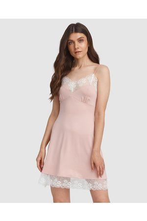 Oh!Zuza Lace Trim Chemise - Sleepwear Lace Trim Chemise