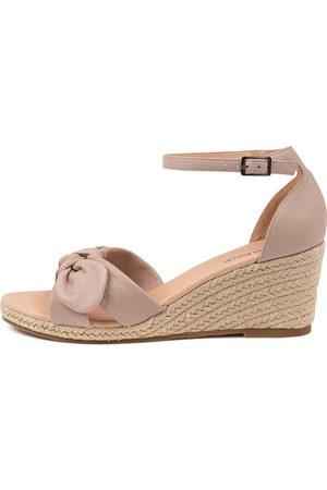 Diana Ferrari Jennalea Df Blush Sandals Womens Shoes Casual Heeled Sandals