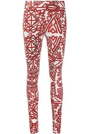 La DoubleJ Printed stretch leggings