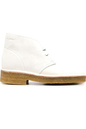 Clarks Women Lace-up Boots - Suede lace-up ankle boots