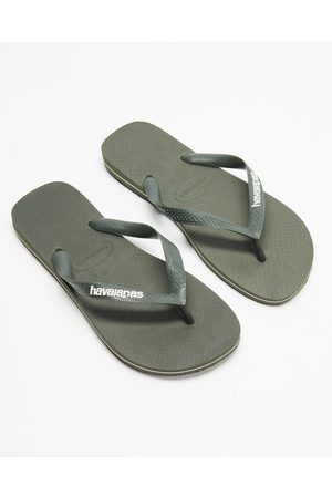 Havaianas Rubber Logo Unisex - All thongs (Olive ) Rubber Logo - Unisex