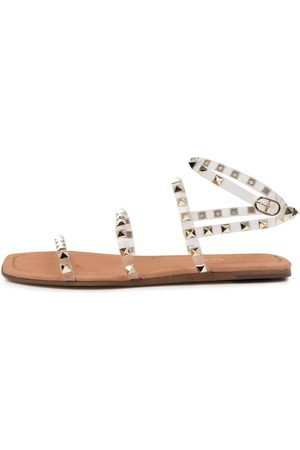 Top end Lynnox To Clear Champagne Sandals Womens Shoes Sandals Flat Sandals
