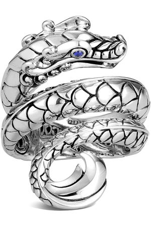John Hardy Legends Naga' sapphire sterling silver ring