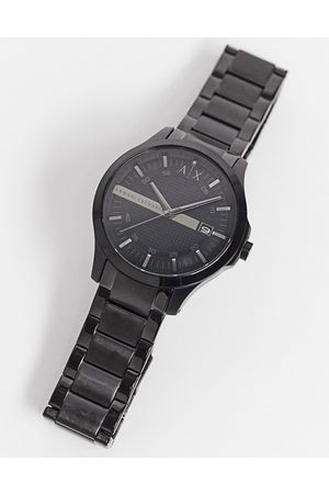 Armani AX2104 Hampton bracelet watch in black