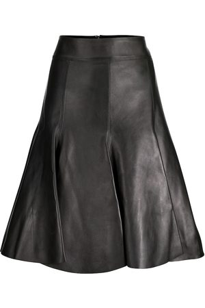 Dorothee Schumacher Exclusive to Mytheresa – Modern Volumes leather skirt