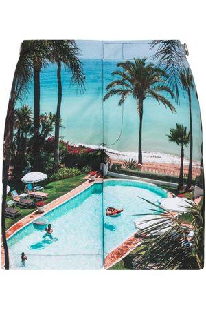 Orlebar Brown Graphic print swim shorts