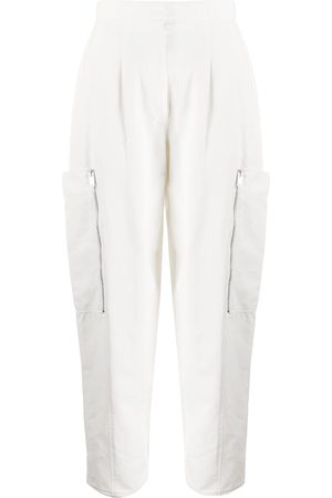 Stella McCartney Tapered high-waisted trousers