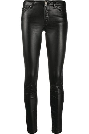 Karl Lagerfeld Skinny metallic denim pants