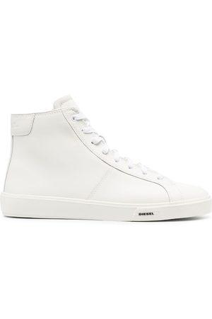 Diesel Men Sneakers - Leather high-top sneakers