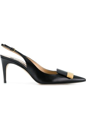 Sergio Rossi Women Heels - Sling-back pointed pumps