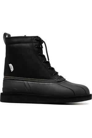 SUICOKE ALAL lace-up ankle boots