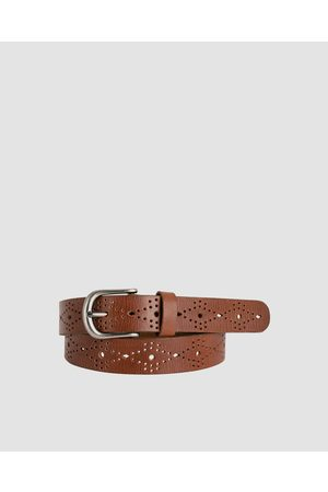 Loop Leather Co Skipping Girl - Belts (Redwood) Skipping Girl