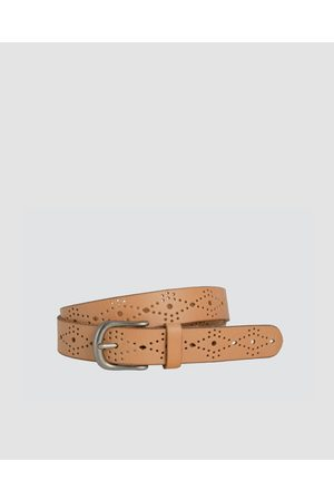 Loop Leather Co Skipping Girl - Belts (Natural) Skipping Girl