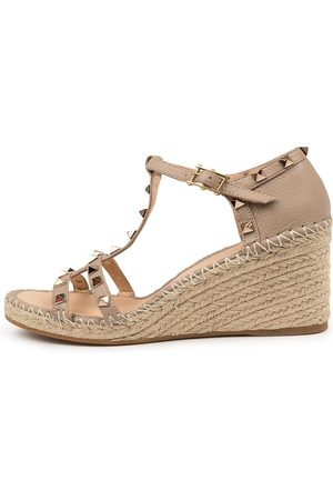 Top end Garvit To Dk Nude Sandals Womens Shoes Casual Heeled Sandals