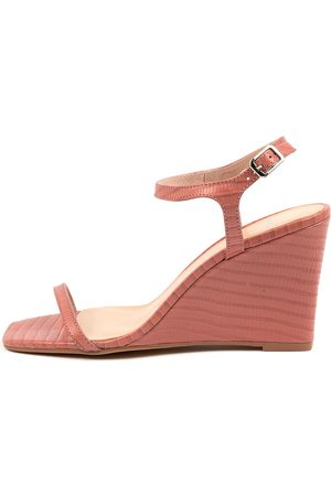 Mollini Aesop Mo Blush Sandals Womens Shoes Casual Heeled Sandals