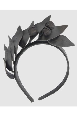 Max Alexander Women Headbands - Leather Flowers Headband - Fascinators Leather Flowers Headband