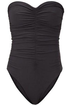 Jade Swim Yara Ruched Strapless Swimsuit - Womens