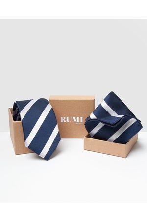 RUMI Design Silk Paquet - Ties (Navy) Design Silk Paquet