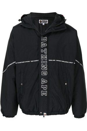 A BATHING APE® Shark print hooded jacket