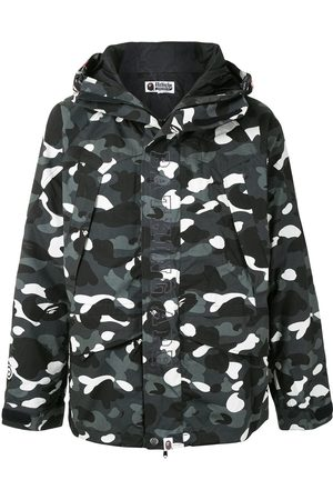 A BATHING APE® Camo Shark hooded jacket