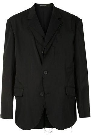 YOHJI YAMAMOTO Raw-edge single-breasted blazer