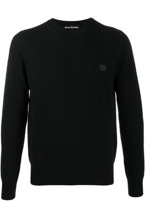 Acne Studios Face patch wool jumper