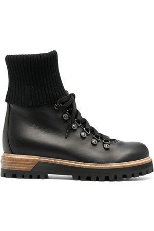 LE SILLA St. Moritz leather trekking boots