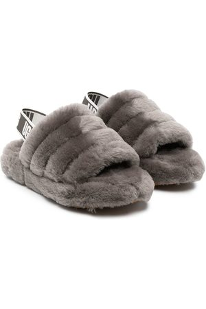 UGG Boys Sandals - Fluff Yeah shearling sandals
