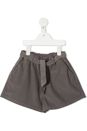 KNOT Okemia self-tie belted shorts
